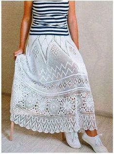 Waist Skirt, Lace Skirt, High Waisted Skirt, Diy Yarn Decor, Crochet Skirts, Looks Cool, Costume, Fashion, Online Diary