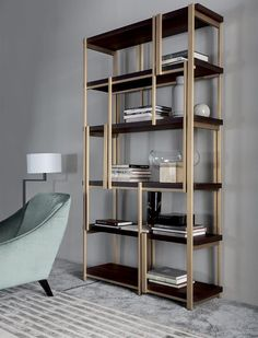 MONDRIAN bookshelf by Massimiliano Raggi for Casamilano new collection 2015