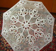 Beautiful parasol for a wedding.