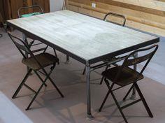 Tavoli Da Giardino In Cemento Prezzi.18 Fantastiche Immagini Su Tavolo Ferro Arredamento Dinning Table