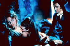 Luan Peters, Madeleine Collinson, Damien Thomas, Twins of Evil I Started A Joke, Vampire Love, Twins, Cinema, Jokes, Glamour, Concert, Image, British