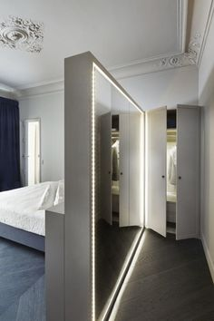 Which mirror in a contemporary adult bedroom? - New house designs - Which mirror in a contemporary adult bedroom? House Design, House Styles, House Interior, Bedroom Hotel, Home, Interior, Bedroom Styles, Home Bedroom, Home Decor