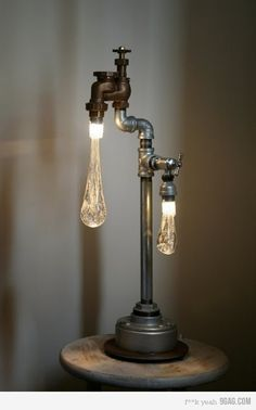 cool lamp idea
