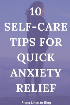 self-care tips for anxiety
