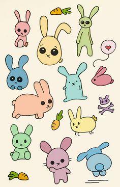 Obnoxiously cute bunnies by Arielle_Weiler, via Flickr