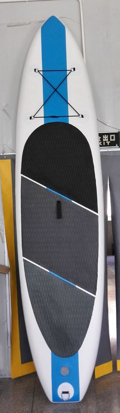 """Size is 10'6"""" X 32"""" X 6"""" ( 320 X 81 X 15cm )  The board net weight is around 11 kg , easy to carry with .   Max weight : 165 kg , suggest weight is for 160 kg   Suitable for man , woman and kids   Max air pressre can reach 15PSI , as firm as a rigid board accessories option : board , hand pump with gauge , backpack , fin and repair kit Inflatable Sup Board, Sup Boards, Sup Paddle, Buying Wholesale, Pump, Backpack, Kit, Woman, Easy"""