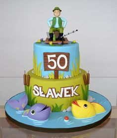 Fisherman - Cake by Crumb Avenue