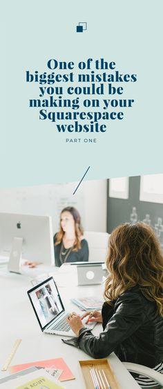 squarespace website tips