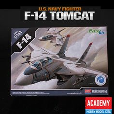 #NEW #F-14 #TOMCAT 1/144 #Academy Model Kit Fighter Aircraft U.S Navy Easy Plastic   http://www.stylecolorful.com/new-f-14-tomcat-1-144-academy-model-kit-fighter-aircraft-u-s-navy-easy-plastic-12608/