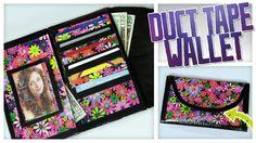 Duct Tape Wallet Clutch - Do It, Gurl