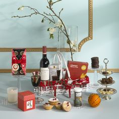 The perfect hamper for a traditional Christmas around the fire. www.hampersandco.com