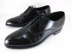 Bostonian Black Leather Wingtip Fashion Oxfords Men's Footwear Spain 11 C/A #Bostonian #Oxfords