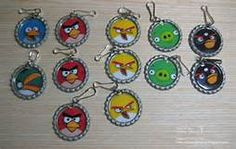 bottle caps angry birds