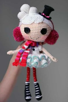 DIY Lalaloopsy Fun: Learn How to Crochet Your Own Doll - Life in a House of Testosterone