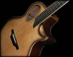 custom acoustic guitars | Custom acoustic guitars, handmade acoustic guitars, quality acoustic ...