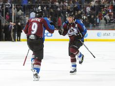 """While also being two of the best in the game, how can you not love Duchene and Stastny doing the """"Bang Bang"""" dance after every win?"""