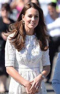 Kate Middleton at Royal Easter Show