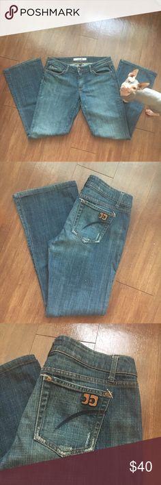 JOE'S Jeans 👖 size 31 inseam 30 Flare/ bootcut. Leather joes patch on pocket. Excellent shape. Joe's Jeans Jeans Boot Cut