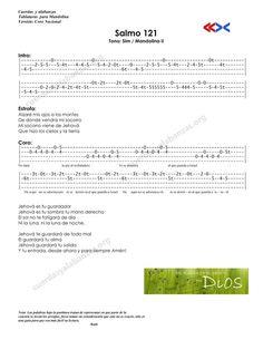 Cuerdas y Alabanzas Psalm 121, Mandolin, Cords, Greek Chorus, Psalms