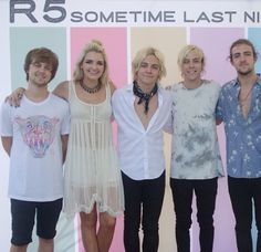 I went to an R5 concert on their sometime last nigh tour in Boise ID, August 12, 2015. It was AWESOME!!!