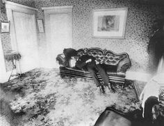 crime scene photo from lizzie borden