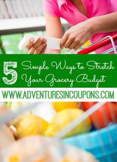 Spending too much on groceries each month? These 5 Ways to Stretch Your Grocery Budget will help you slim down your budget while keeping your family full and happy!