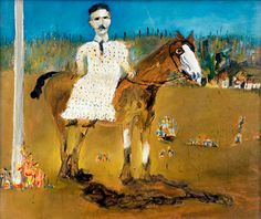 from the Ned Kelly series  by Sidney Nolan