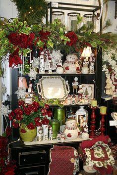 christmas decorating ideas pinterest | Christmas display | Christmas Ideas and Decor