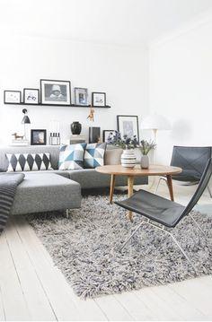 White Home with Pops ofPastel - lookslikewhite Blog - lookslikewhite