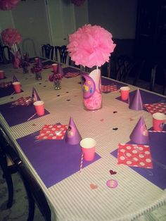 For christmas party party diy take three colored plastic tablecloths