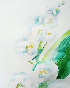 Tender Lily of the valley original watercolor is available https://www.etsy.com/ru/listing/507379621/lily-of-the-valley-original-watercolor