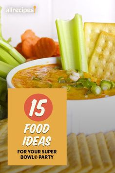"""15 Food Ideas for Your Super Bowl® Party 