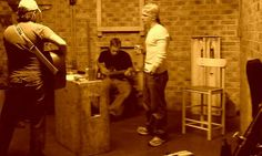 Shane, Lance and Jamey @ rehearsal.