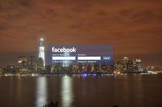 Minimal Facebook Login - New York Live