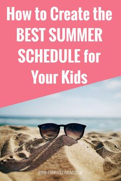 Create the best daily summer schedule for kids with these great tips and ideas! #summerschedule #dailysummerschedule #summerscheduleforkids #summerschedulekidsdaily #summerschedulekids Morning Activities, Summer Activities For Kids, Summer Kids, Kids Summer Schedule, Family Schedule, When School Starts, Schedule Printable, Routine Chart, Prayer For Family