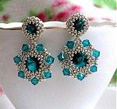 Blue zircon Blue Zircon, Jewellery Making, Jewelry Ideas, Jewerly, Beading, Earrings, How To Make, Handmade, Diy
