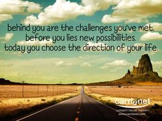 Crossroads in life are opportunities to choose between different options.  http://www.carrienet.com/crossroads/  #depression