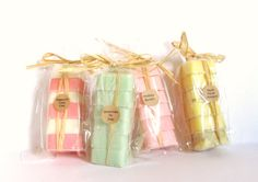 SPRING SCENTS 4 pack soap gift set on Etsy, $28.00