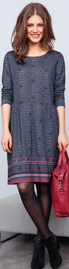modern folk dress that has old embroidery folk motifs: read at http://www.boomerinas.com/2014/10/03/folk-inspired-clothing-modern-folklore-fashions-fall-2014/