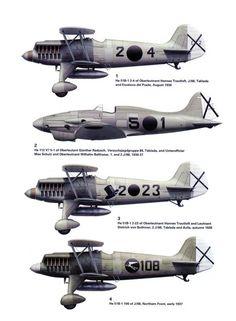 Aviones de la Legión Cóndor en España