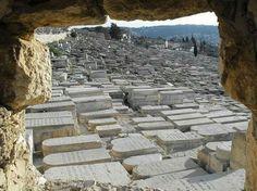 Monte degli ulivi. Cimitero ebraico