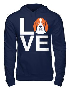 This Beagle Love hoodie is an A Dog's Love™ exclusive for beagle lovers who spell true love with a beagle! Now you can show off your beagle pride with our popular Beagle Love hoodie. This original des