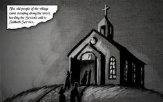 The Minister's Black Veil - Comics - Page 1