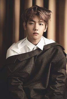 Baekhuyn . Love. Cre: the owner/ as logo