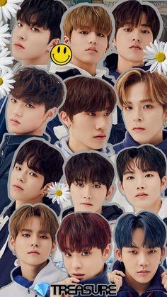 Kpop, Treasure Boxes, Boy Groups, Jaehyun, Fan Art, Wallpaper, Vintage, Labs, Yoshi