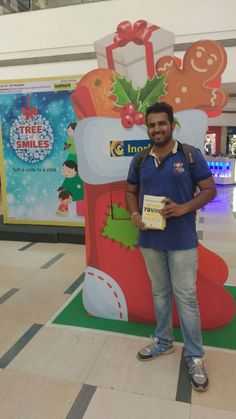 This Christmas, join Mr Viplav in the drill of spreading smiles with Tree of Smiles! #InorbitMakesMeSmiles