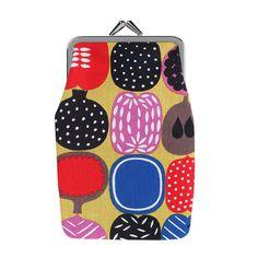 Kompotti midi purse by Marimekko