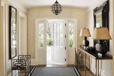 Contemporary Wicker Light Fixture | LuxeSource | Luxe Magazine - The Luxury Home Redefined