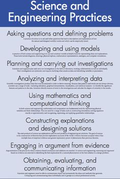 NGSS Science Practices | Teacher | Pinterest | Science, Writers ...