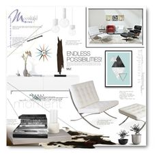 """MLF"" by anitadz ❤ liked on Polyvore featuring interior, interiors, interior design, home, home decor, interior decorating, CB2, BoConcept, Menu and modern"